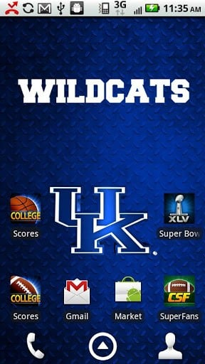 Kentucky Live Wallpaper HD App for Android 288x512
