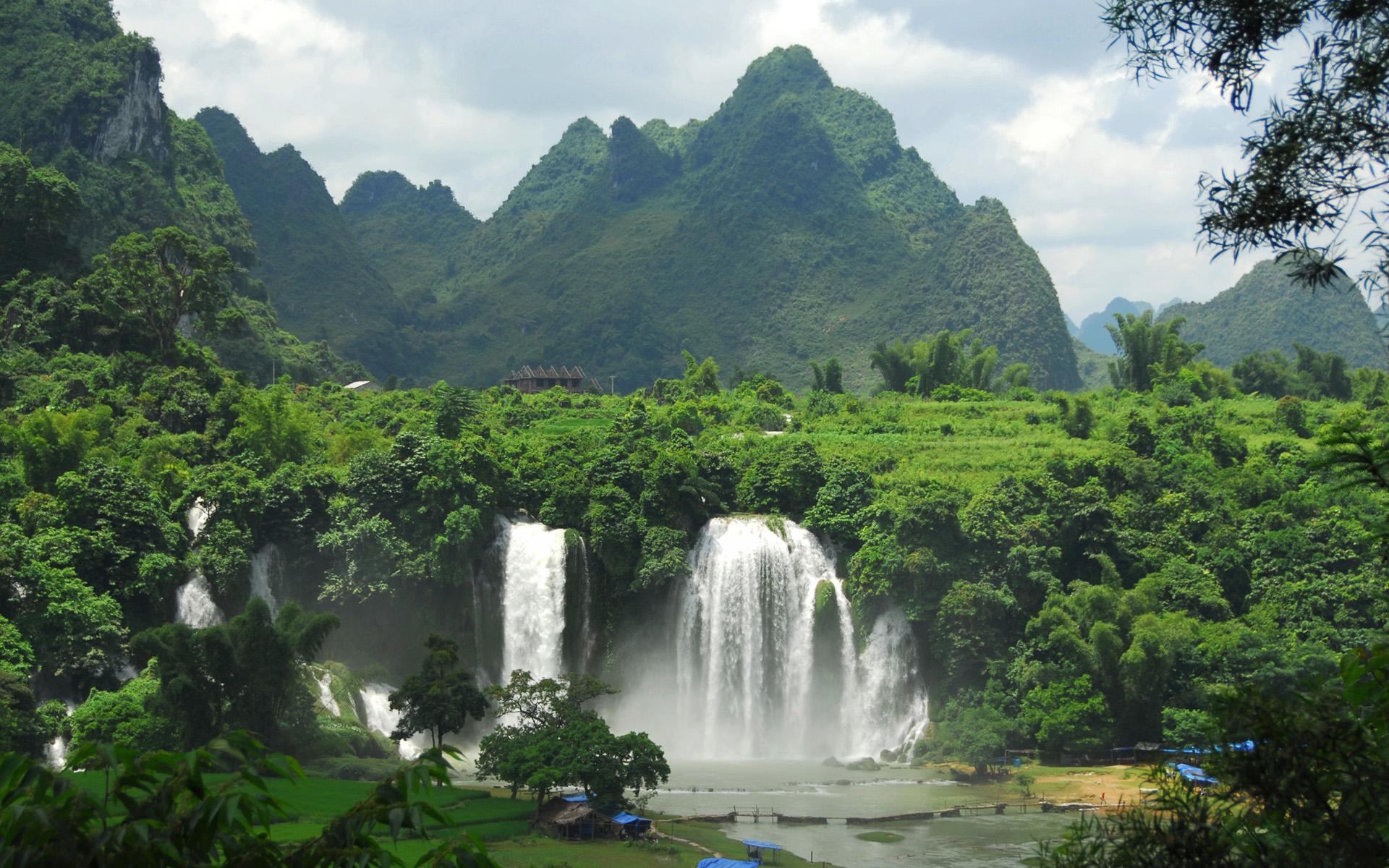 beautiful vietnam nature hq wallpaper 4 wide 1920x1200