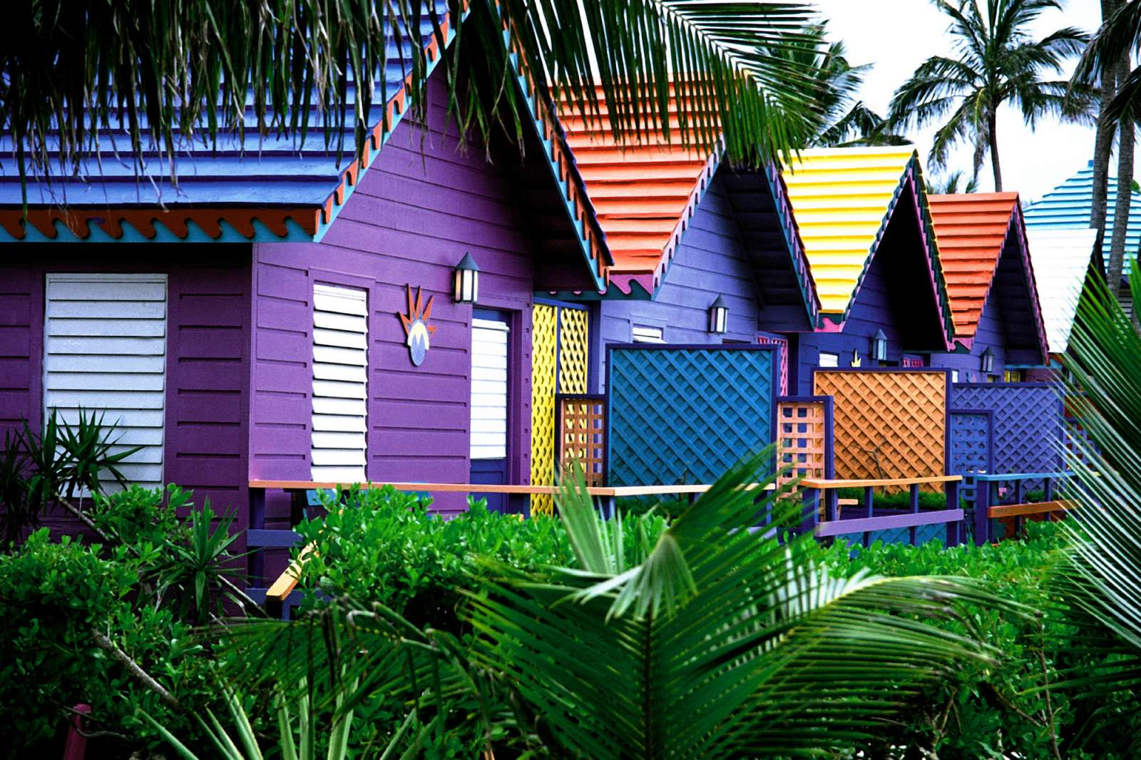 Colorful Houses Bahamas Wallpapers Photos Pictures and Backgrounds 1600x1066