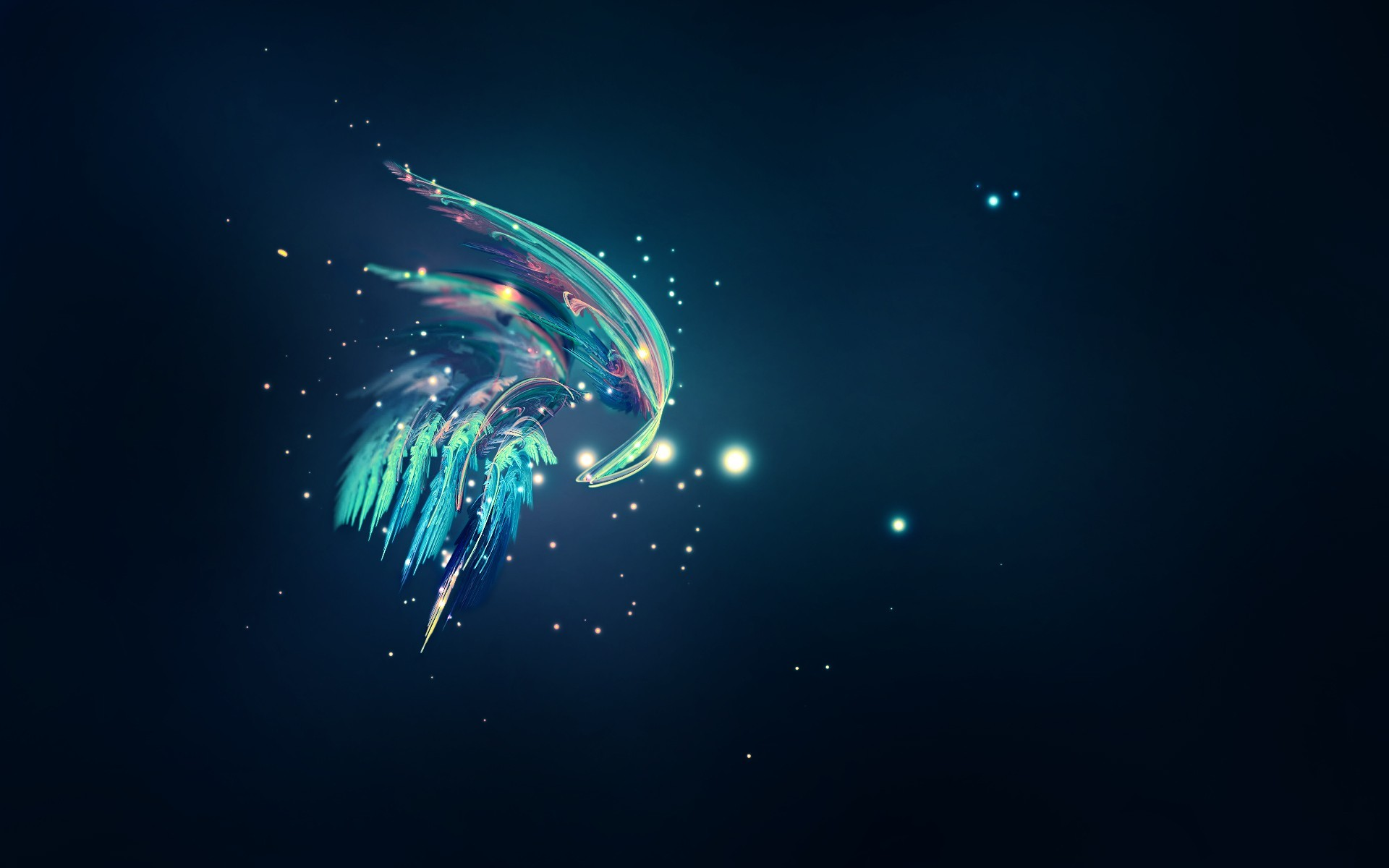 Feathers wallpaper 4458 1920x1200