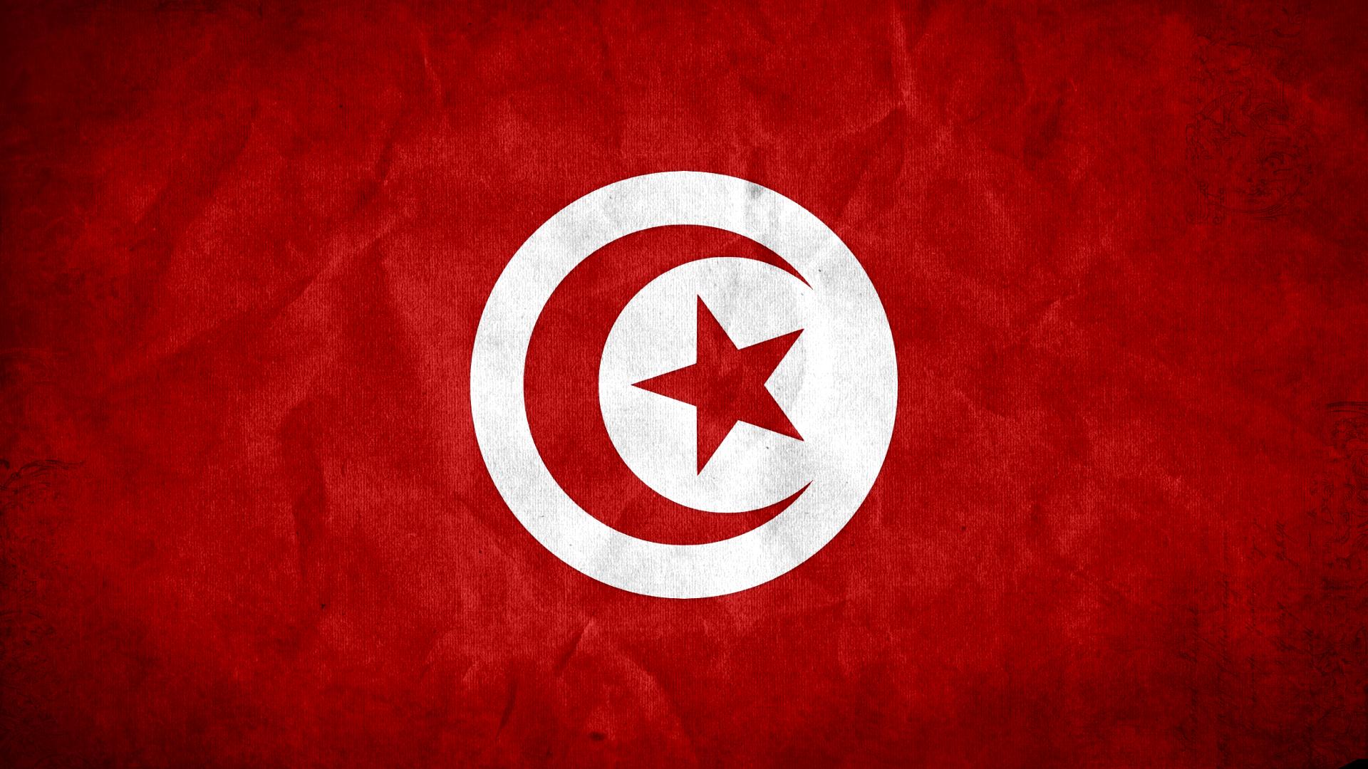 Tunisia Flag HD Wallpaper 1920x1080 ID25283   WallpaperVortexcom 1920x1080