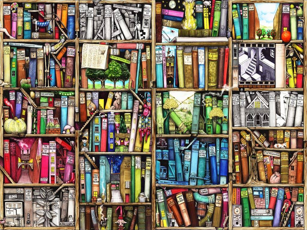 Books 1024768 Wallpaper 1620822 1024x768