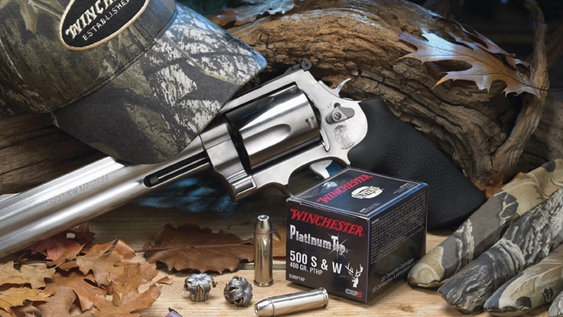 Smith Wesson 500 Magnum Revolver Computer Wallpapers Desktop 1920x1080