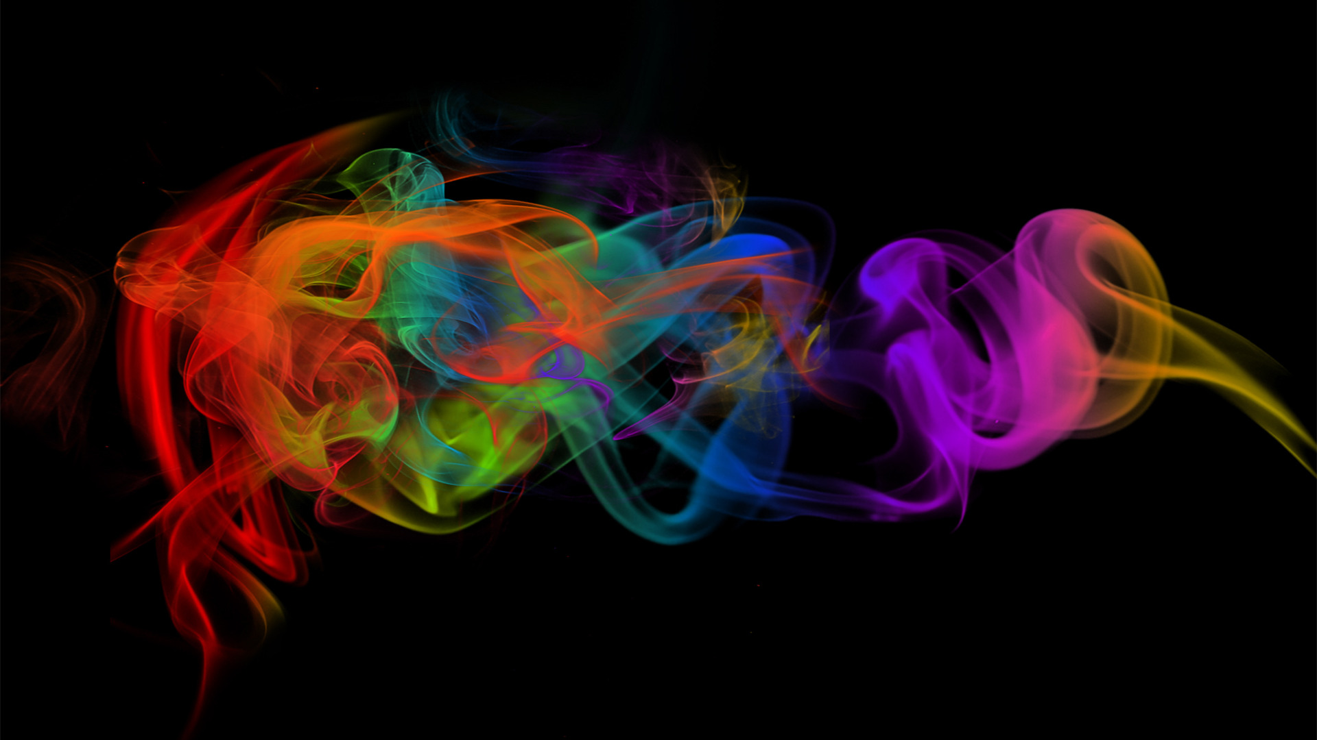 Colorful Smoke Wallpapers HD 1920x1080
