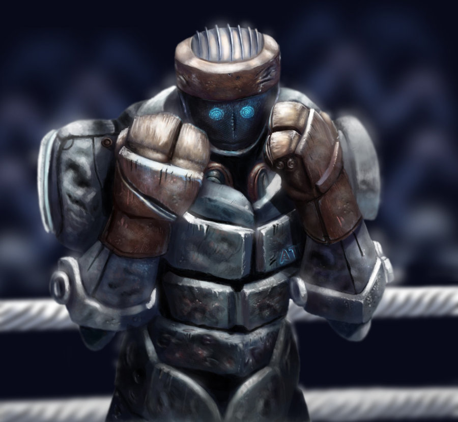 Atom Real Steel Coloring Pages