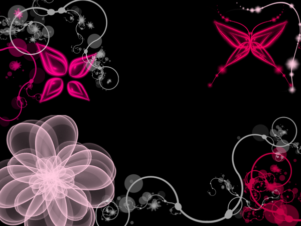 Anispace   Gallery   Anime Pictures   pink black wallpaper 600x450