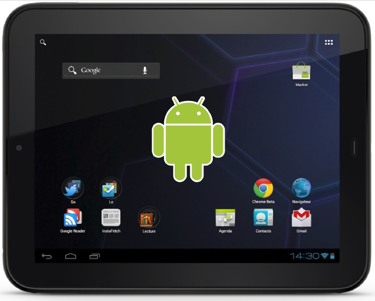 how to change wallpaper on android tablet