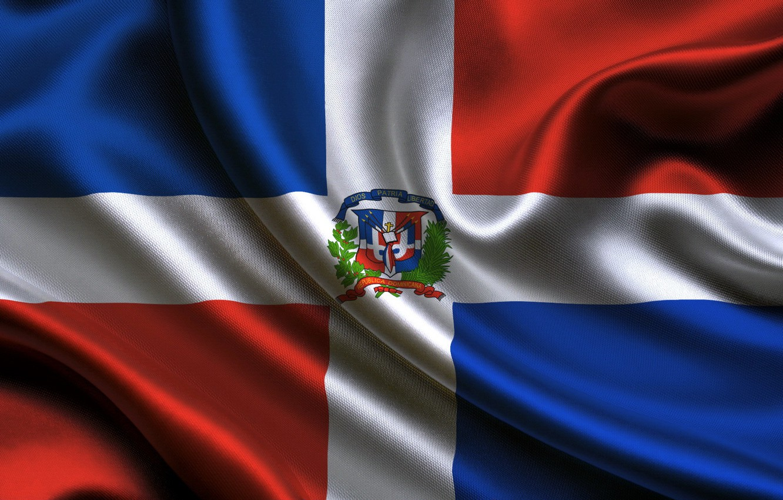 Wallpaper flag flag Republic Dominican dominican republic 1332x850