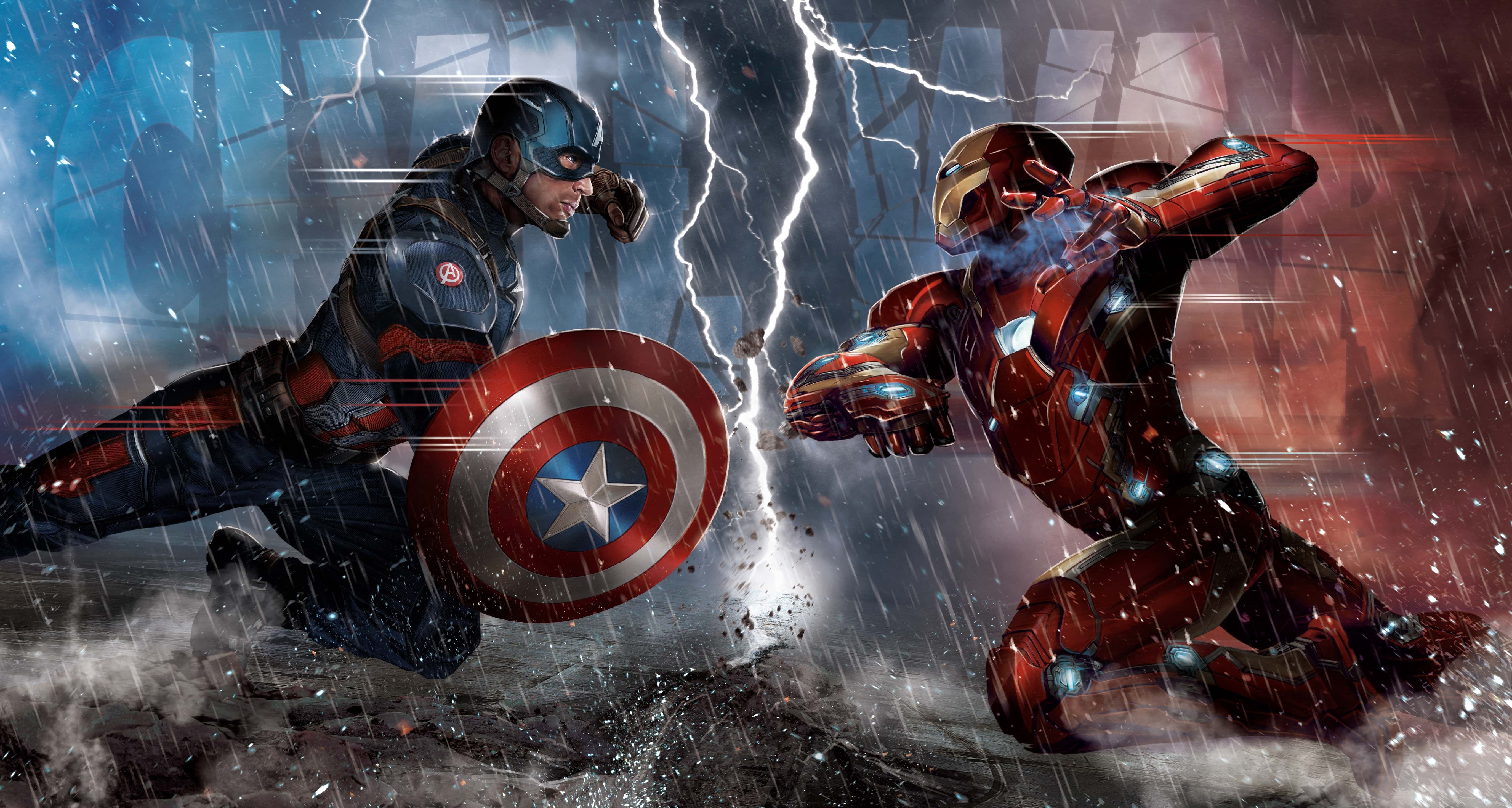 109 Captain America Civil War HD Wallpapers Background Images 5480x2927