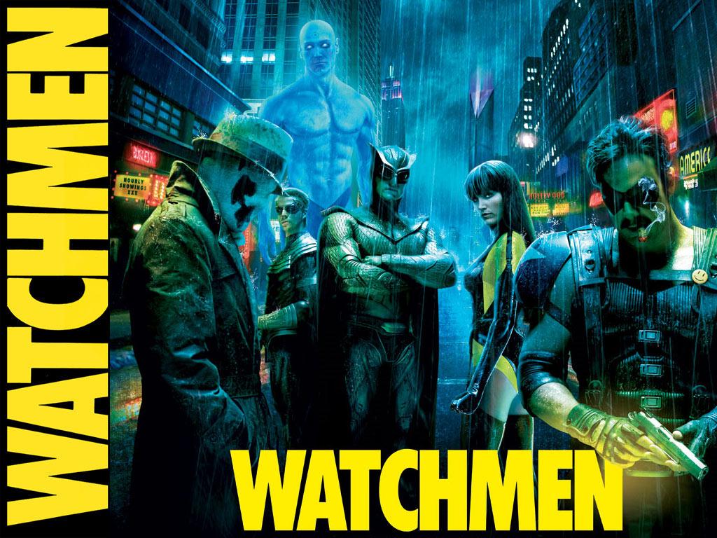 DC Comics Super Hero Watchmen Wallpaper 1024x768