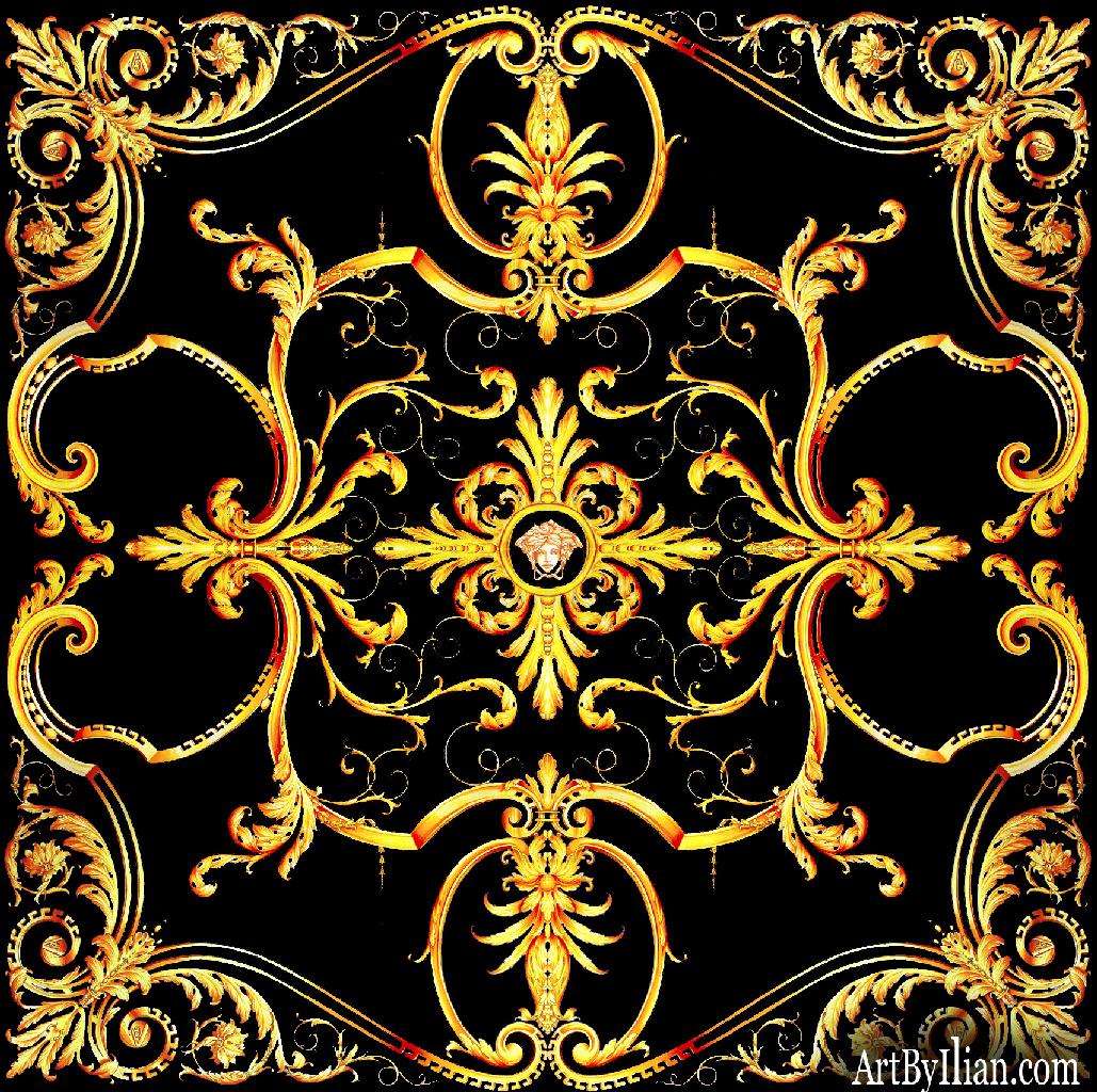 Versace Background Versace iPhone Wallpap...