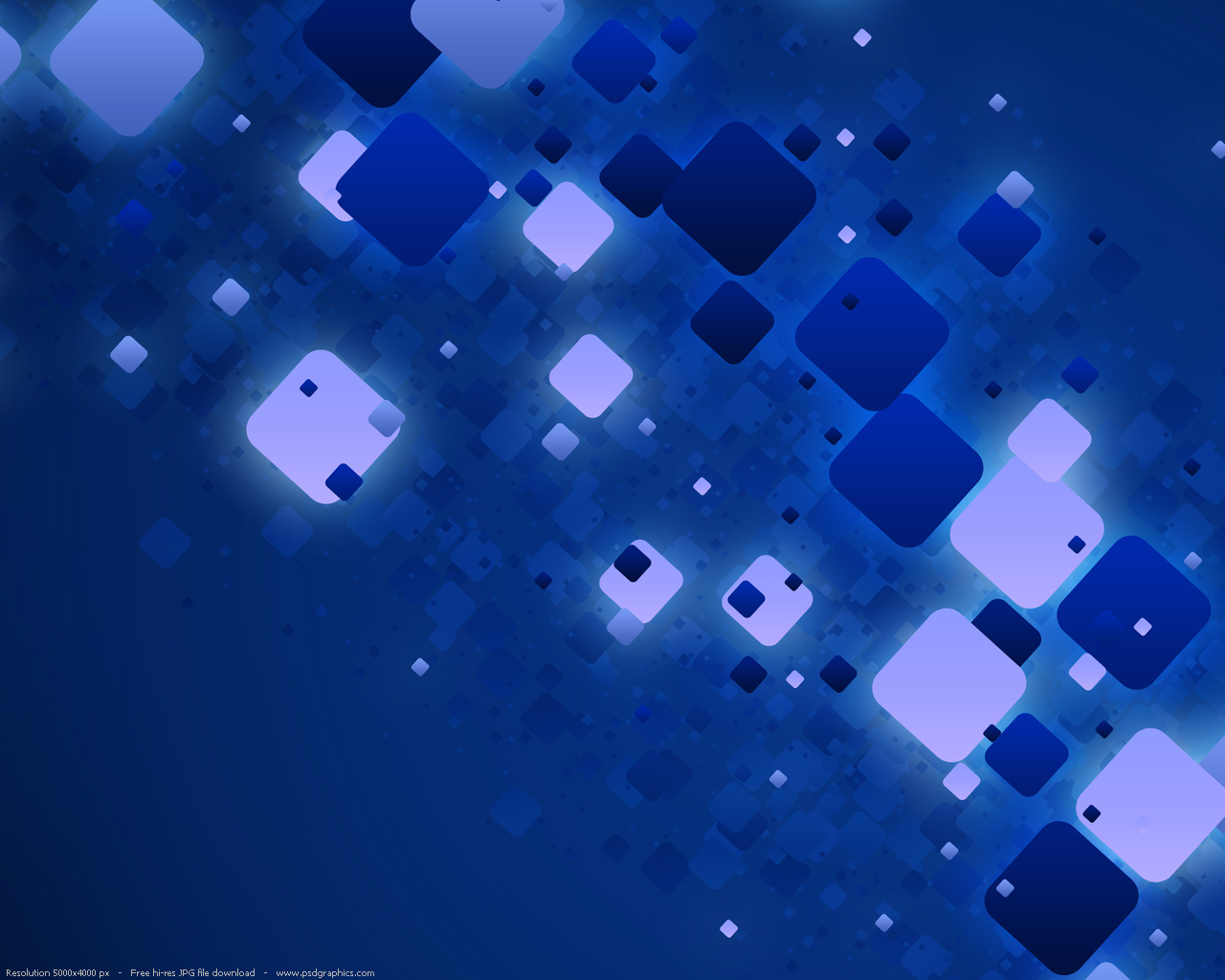 Blue abstract 1280x1024