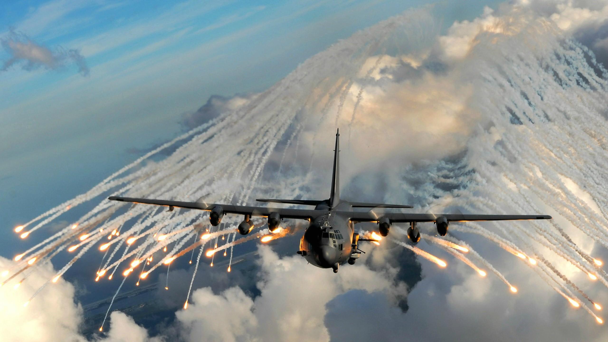 Wallpaper vehicle airplane military aircraft US Air Force 2560x1440