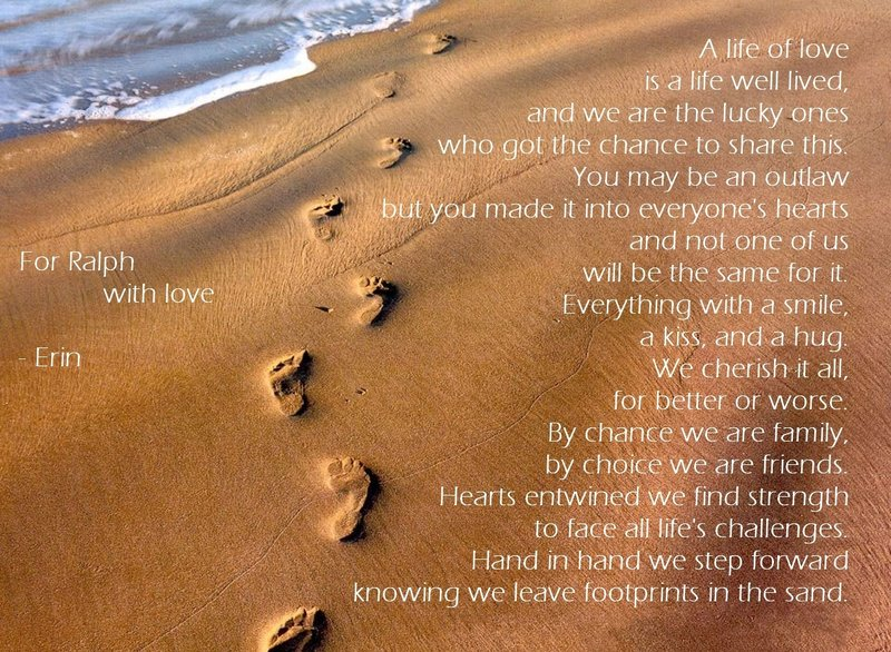 footprints in the sand by Forbsie 800x586