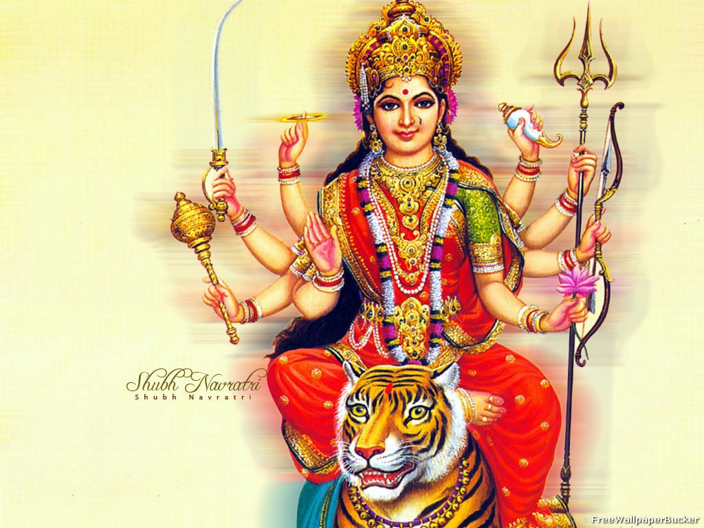 Durga Mata Hindu Goddess Durga Maa Most Beautiful Wallpapers 1024x768
