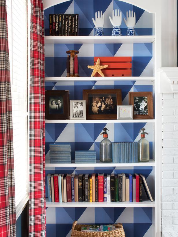 DIY Wallpaper Ideas   Wallpaper Crafts and DIY Ideas to Make HGTV 616x821