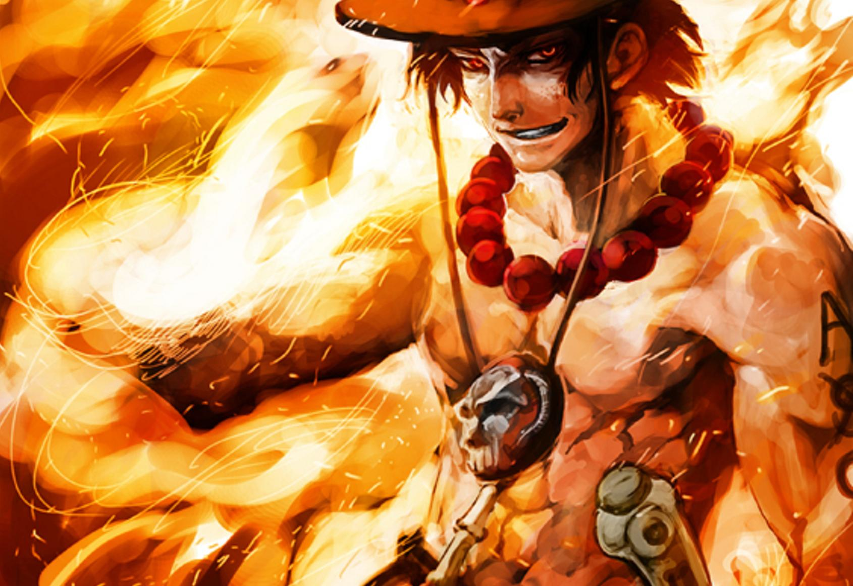 75 One Piece Ace Wallpaper On Wallpapersafari