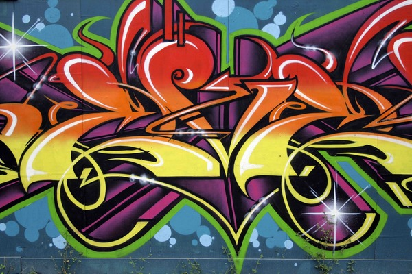 Graffiti Wallpaper Custom Wallpaper Mural Print by Jw Shutterstock 600x400