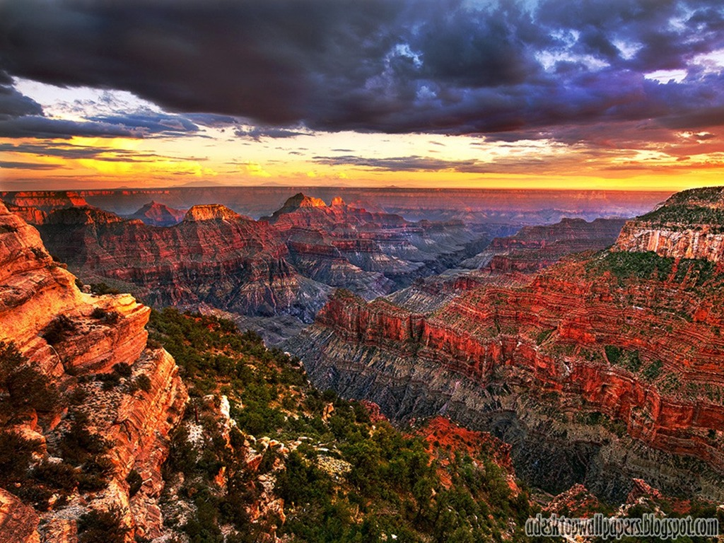 Grand Canyon Free Desktop Wallpaper