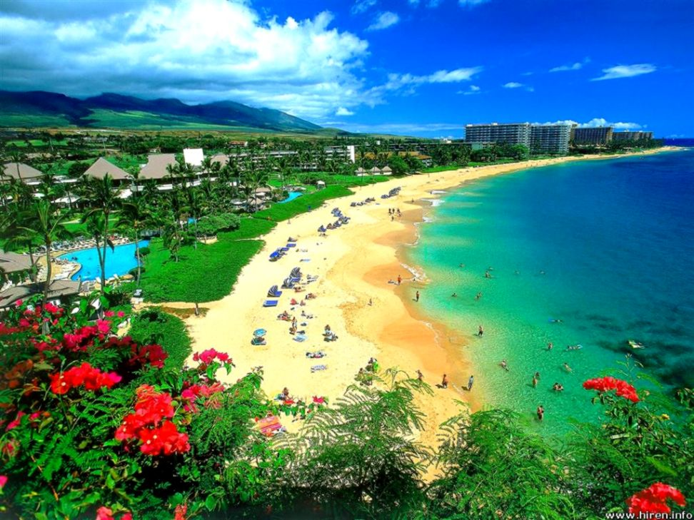 Kaanapali Beach Wallpaper Wallpapers Ultra 972x729
