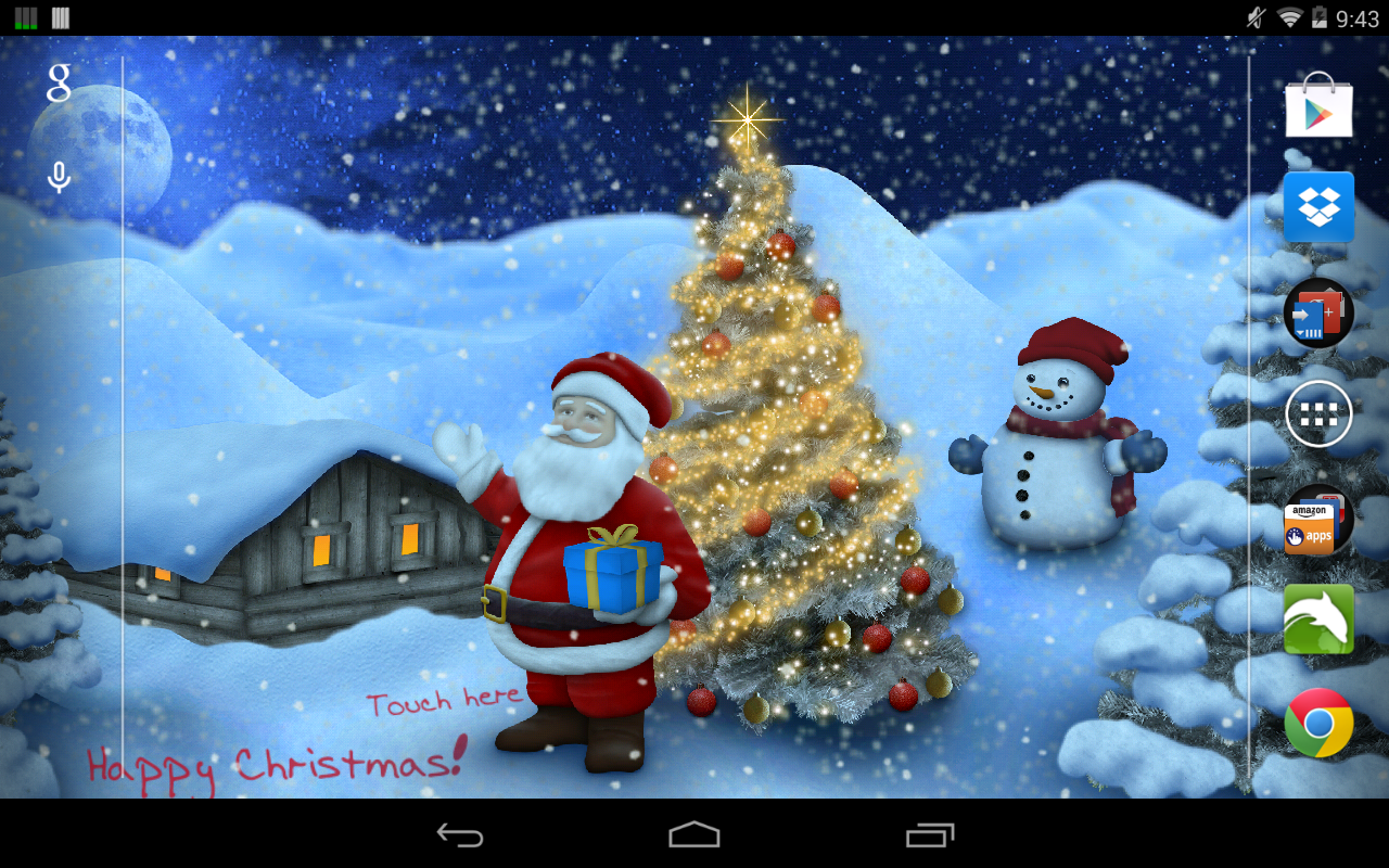 Christmas Live Wallpaper Pro   Android Apps on Google Play 1280x800