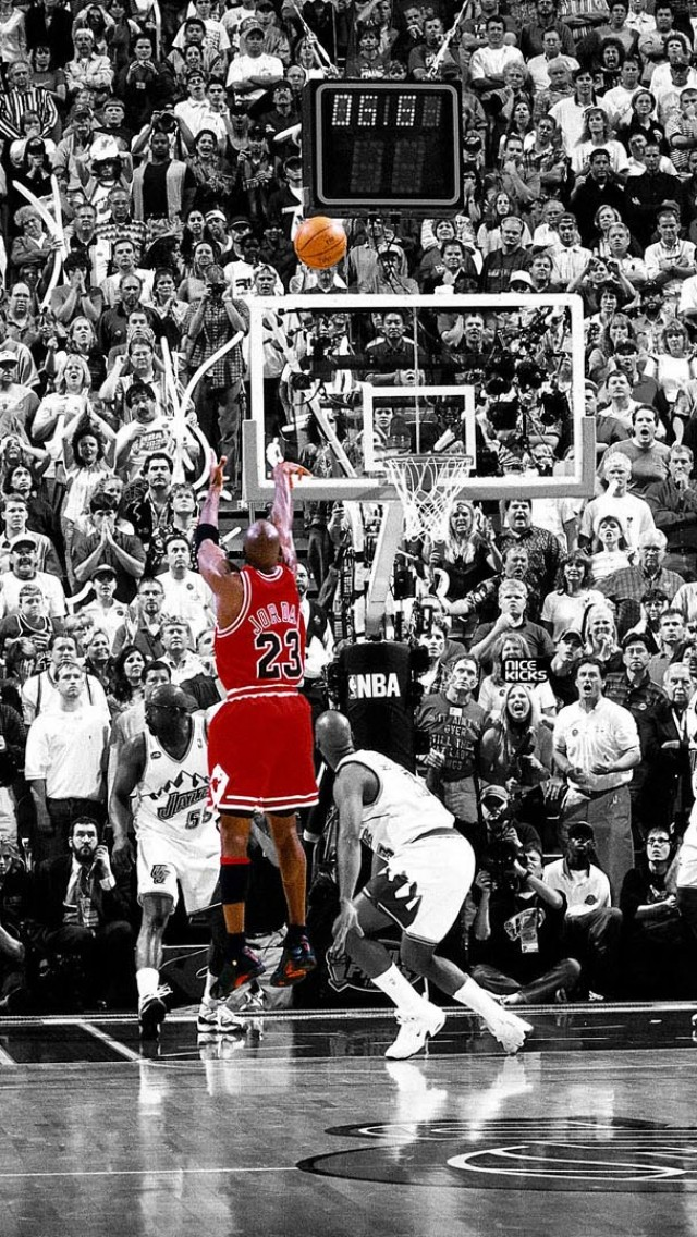 Basketball Wallpapers For IPhone 5 The Art Mad Wallpapers 640x1136