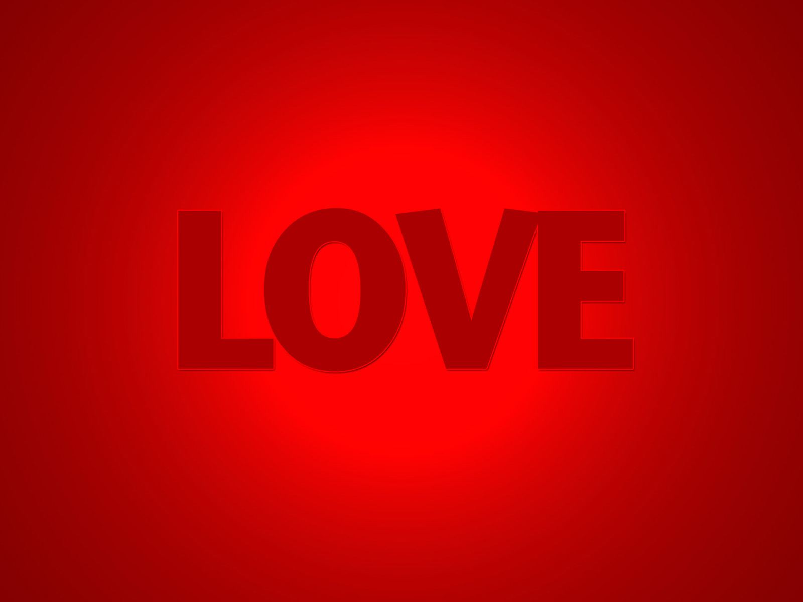 Download All Love wallpaper love red color 1600x1200