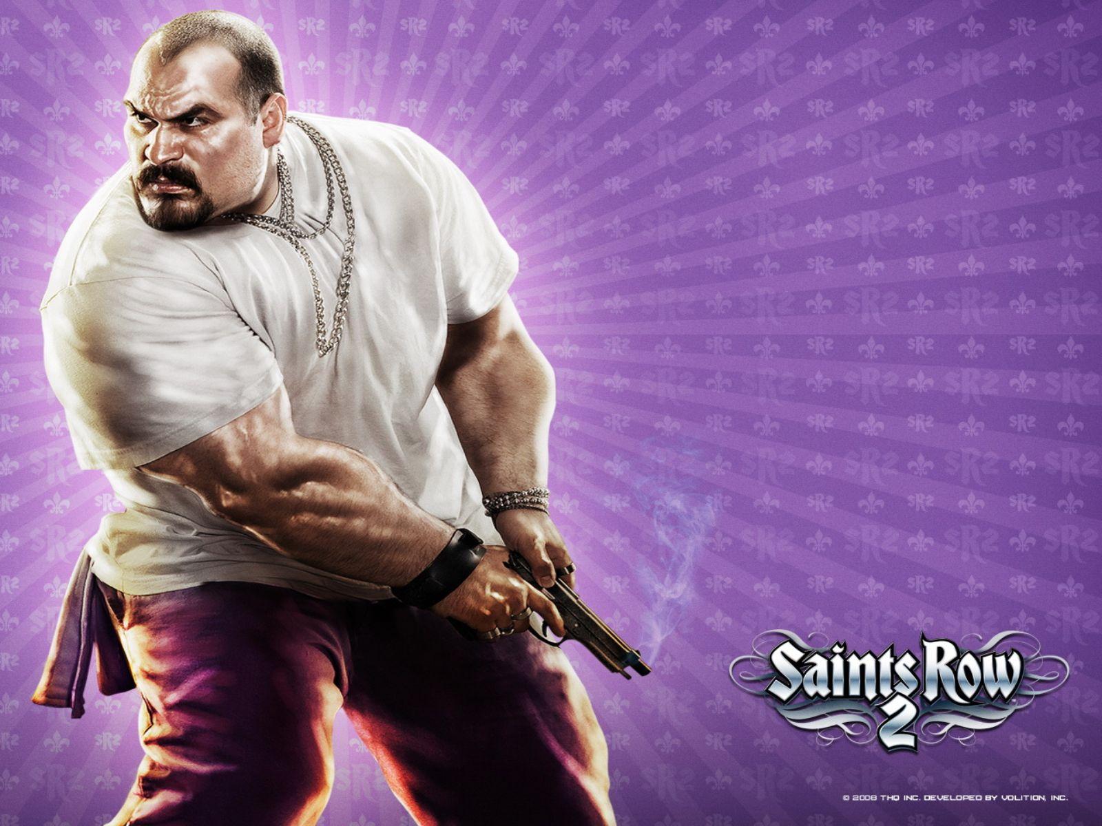 Hispanic Bulldog   Action Games Wallpaper Image featuring Saints Row 2 1600x1200