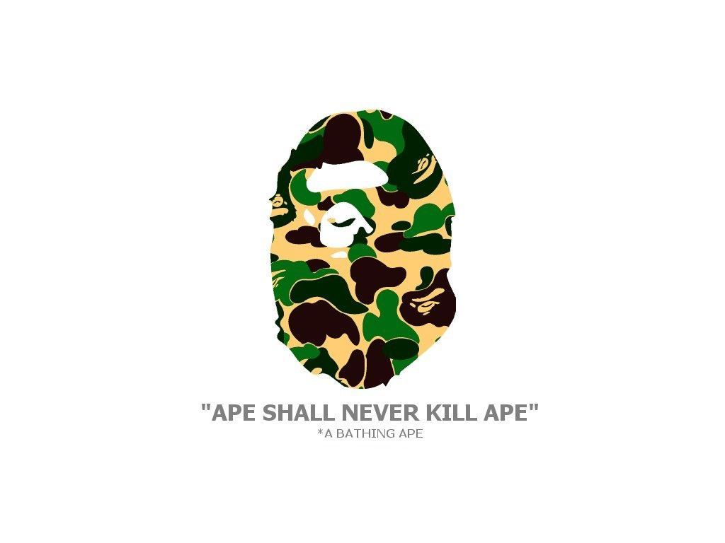 Bathing Ape Wallpaper Bathing Ape Desktop Background 1024x768