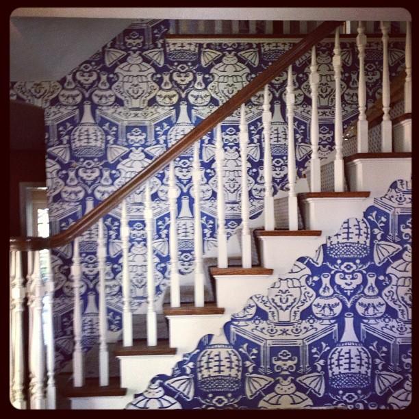 Clarence House Vase Wallpaperjpg 612x612