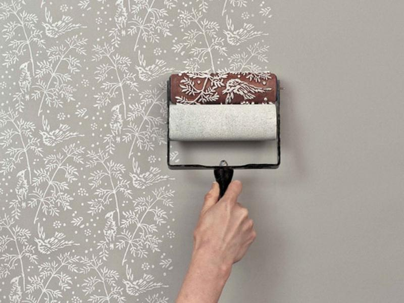 Wallpaper Removal Tools And Paint Roller Printed Walls Tool 800x600