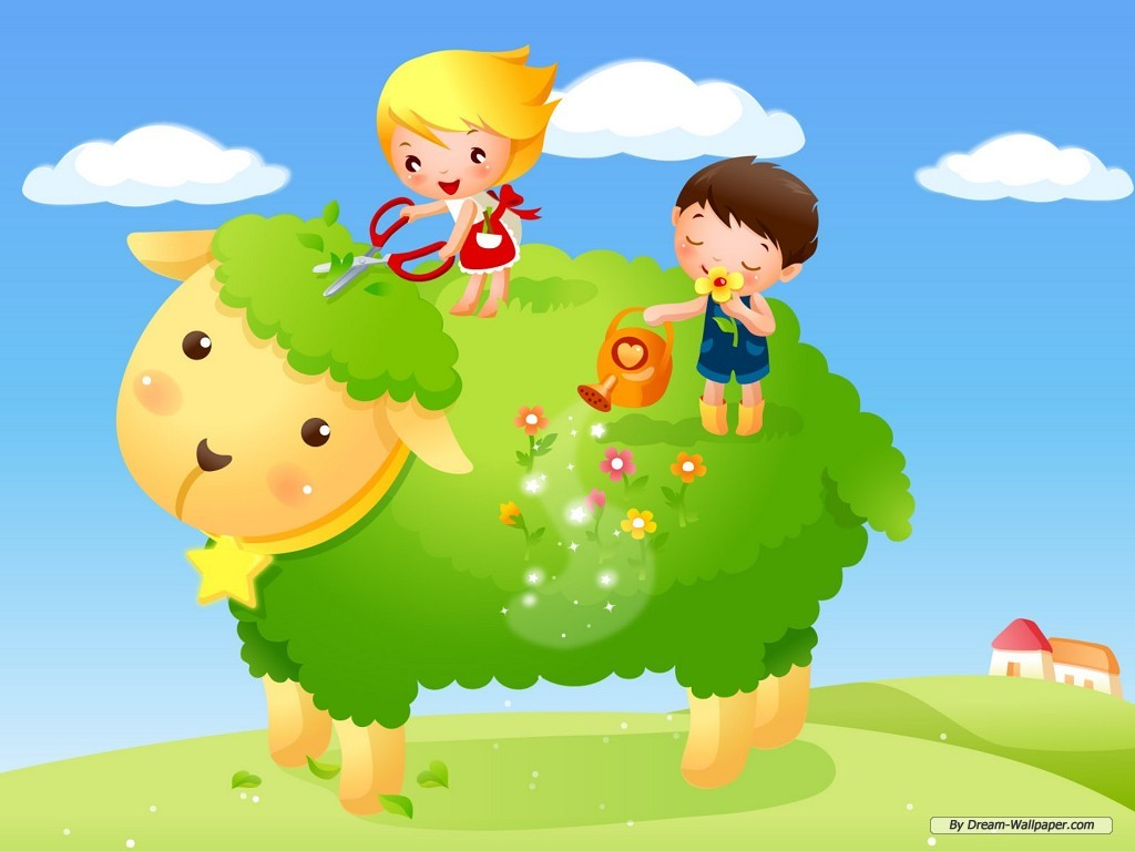 children wallpaper Wallpaper For Kids 1024x768