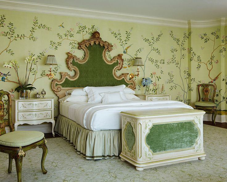 de Gournay Chinoiserie wallpaper from Yrmural Studio with competitive 736x588