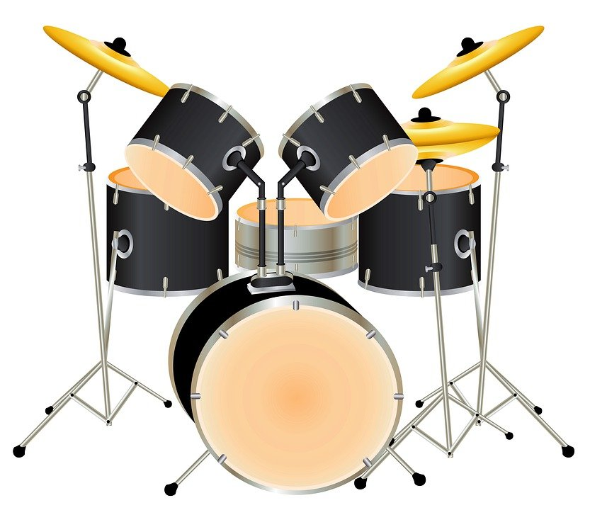 Drums Drum Set Background   photo on Pixabay 833x720