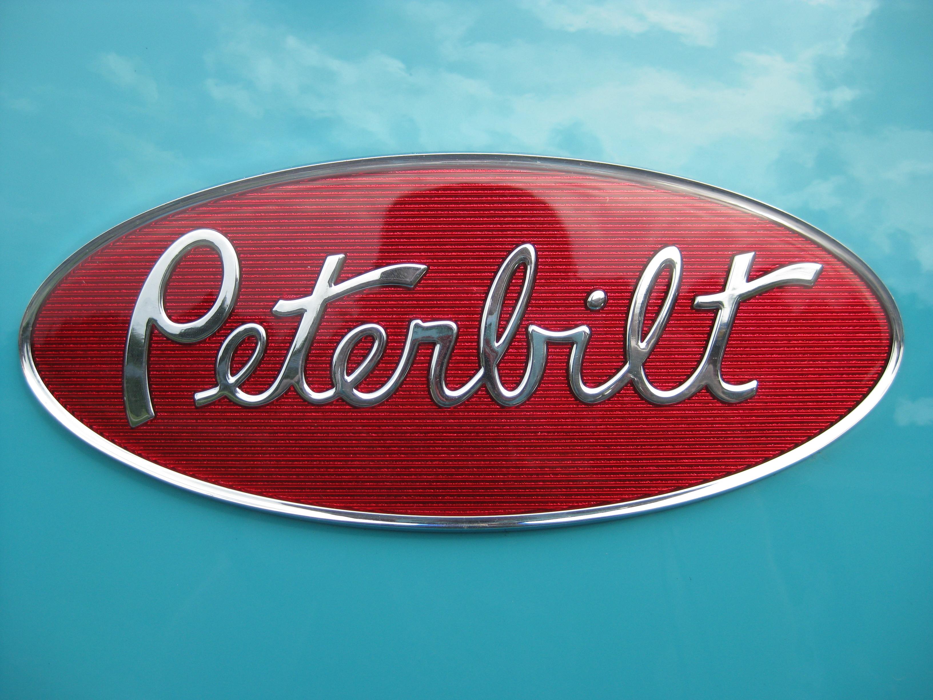 Galleries Related Peterbilt Logo Wallpaper Peterbilt Logo Black 3264x2448