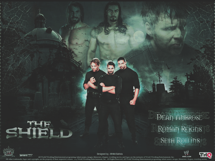 The Shield Wallpaper by MhMd Batista 900x675