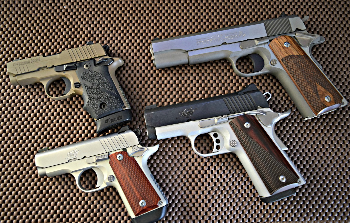 Wallpaper   Kimber Ultra Carry II 45 ACP   Kimber Micro 380 1332x850