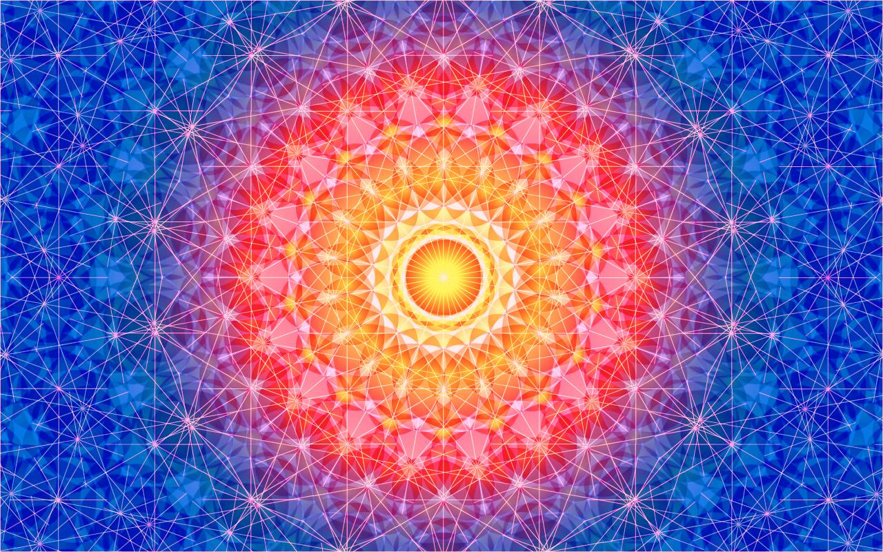 Mandala ResearchInspiration Digital Art 2050 1280x800