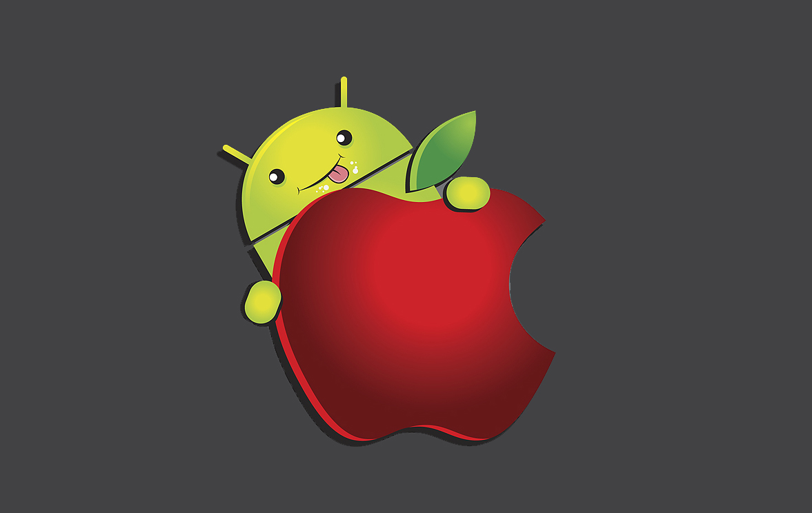 The Android VS Apple Gamer Press Start Australia 1177x744