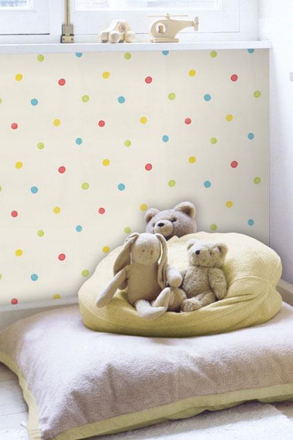 Polka Dots   Kids Wallpaper Ideas Designs houseandgardencouk 426x639