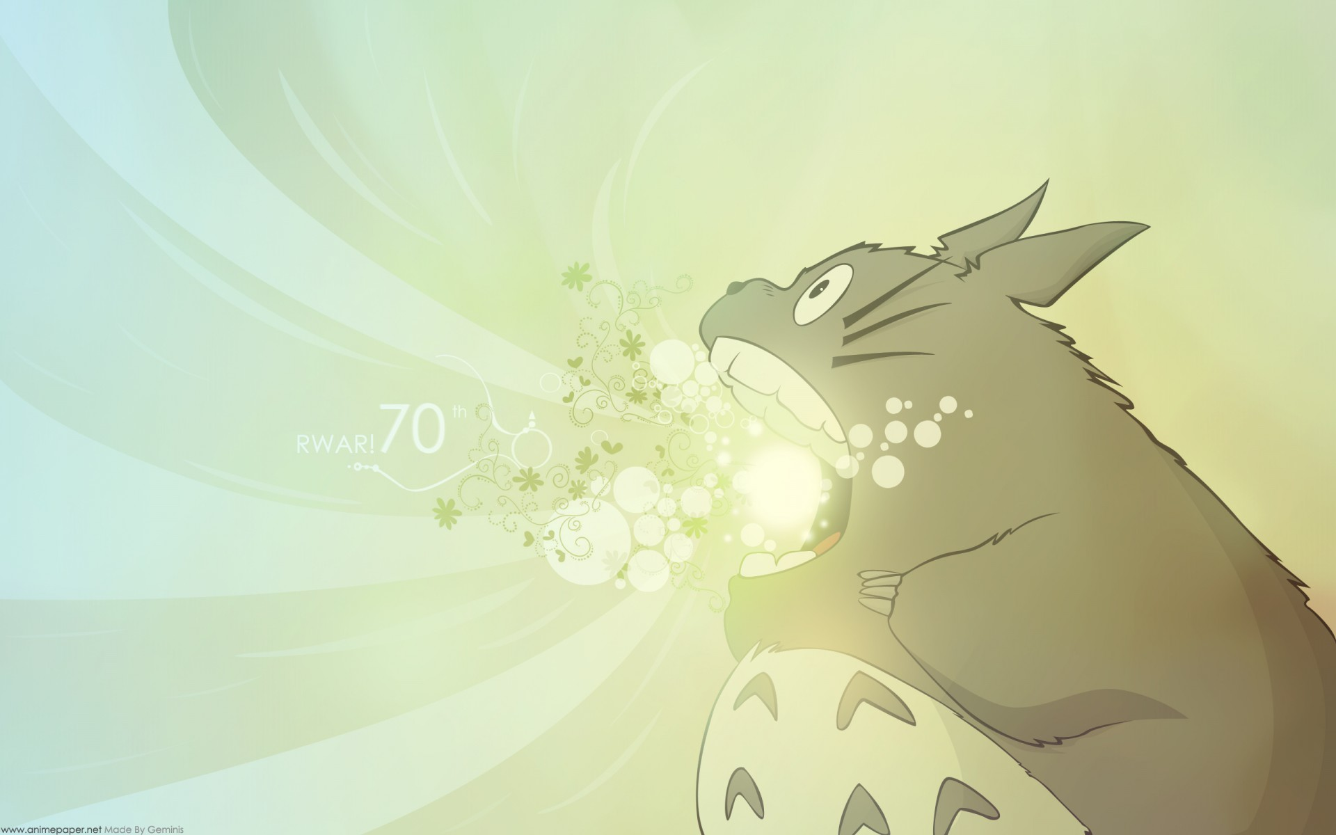 Studio Ghibli My Neighbor Totoro 1920x1200
