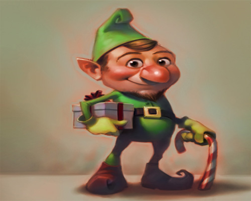 Christmas Wallpapers and Images and Photos Christmas elf wallpapers 500x400