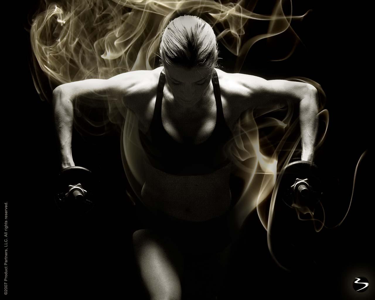 Fitness Wallpapers Women - WallpaperSafari