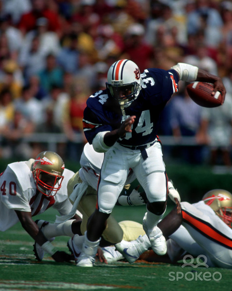 back bo jackson 34 in action against florida at Wallpaper Downloads 479x600