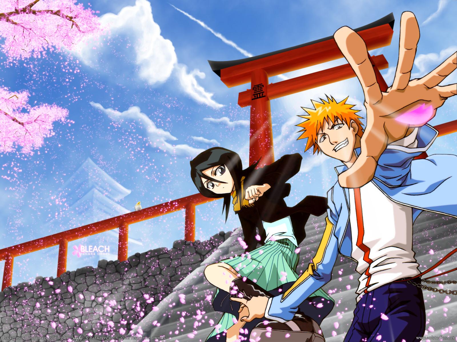 bleach anime wallpaper for iphone hd background anime photo bleach hd 1600x1200