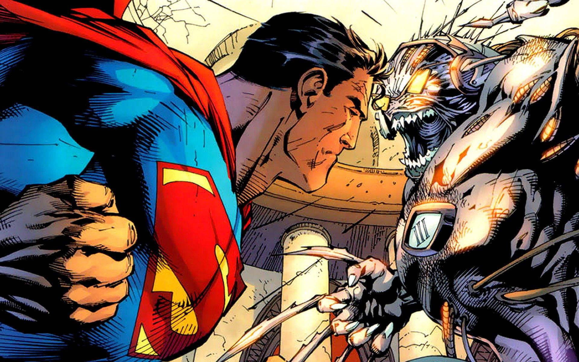 75 Superman Vs Doomsday Wallpaper On Wallpapersafari