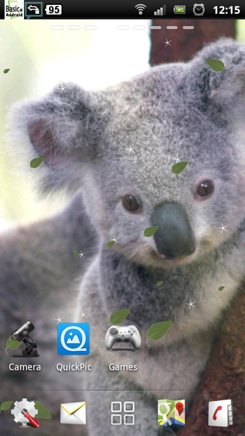 Baby Koala Live Wallpaper   Android Apps on Google Play 480x854