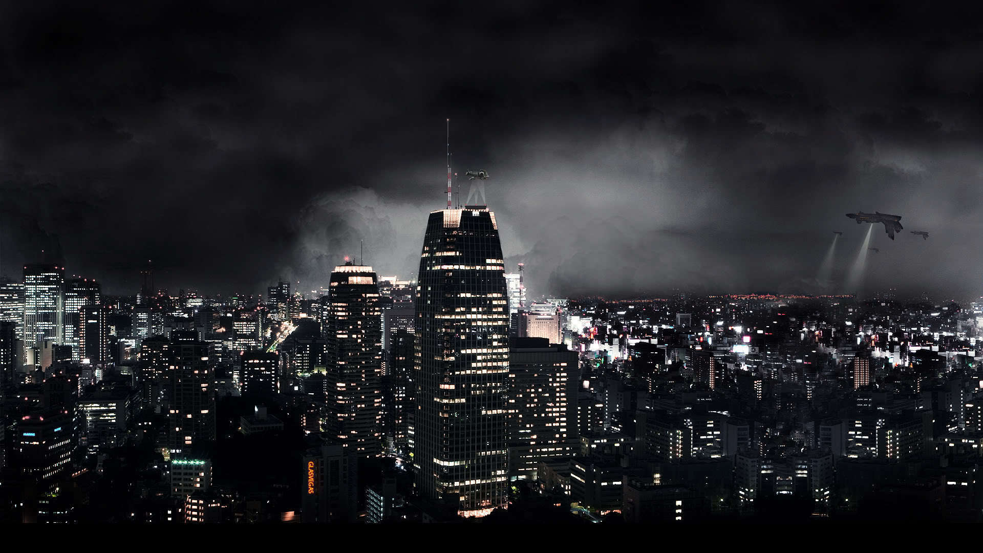 The Big City In Sci Fi   HD Wallpaper Wallpaper 21718727 1920x1080