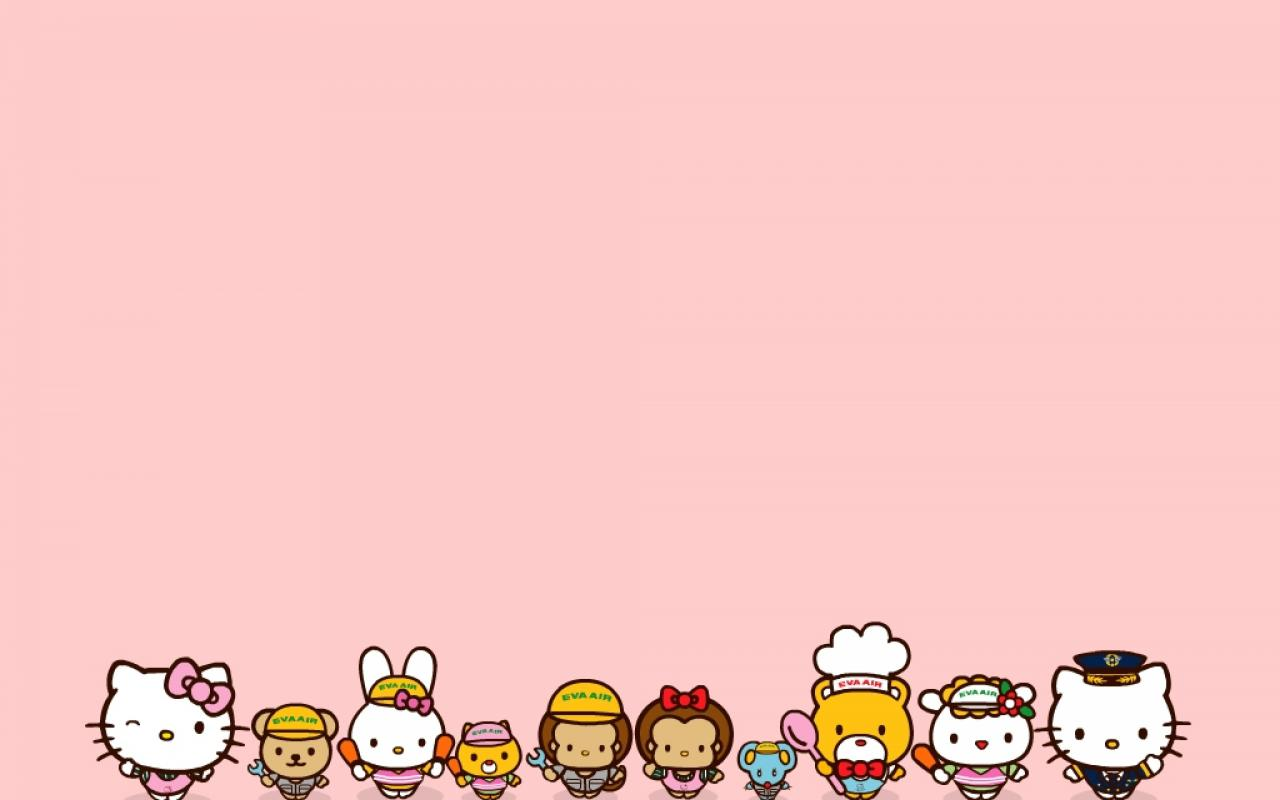 Free Download Hello Kitty Wallpaper Complete Friends Of Hello