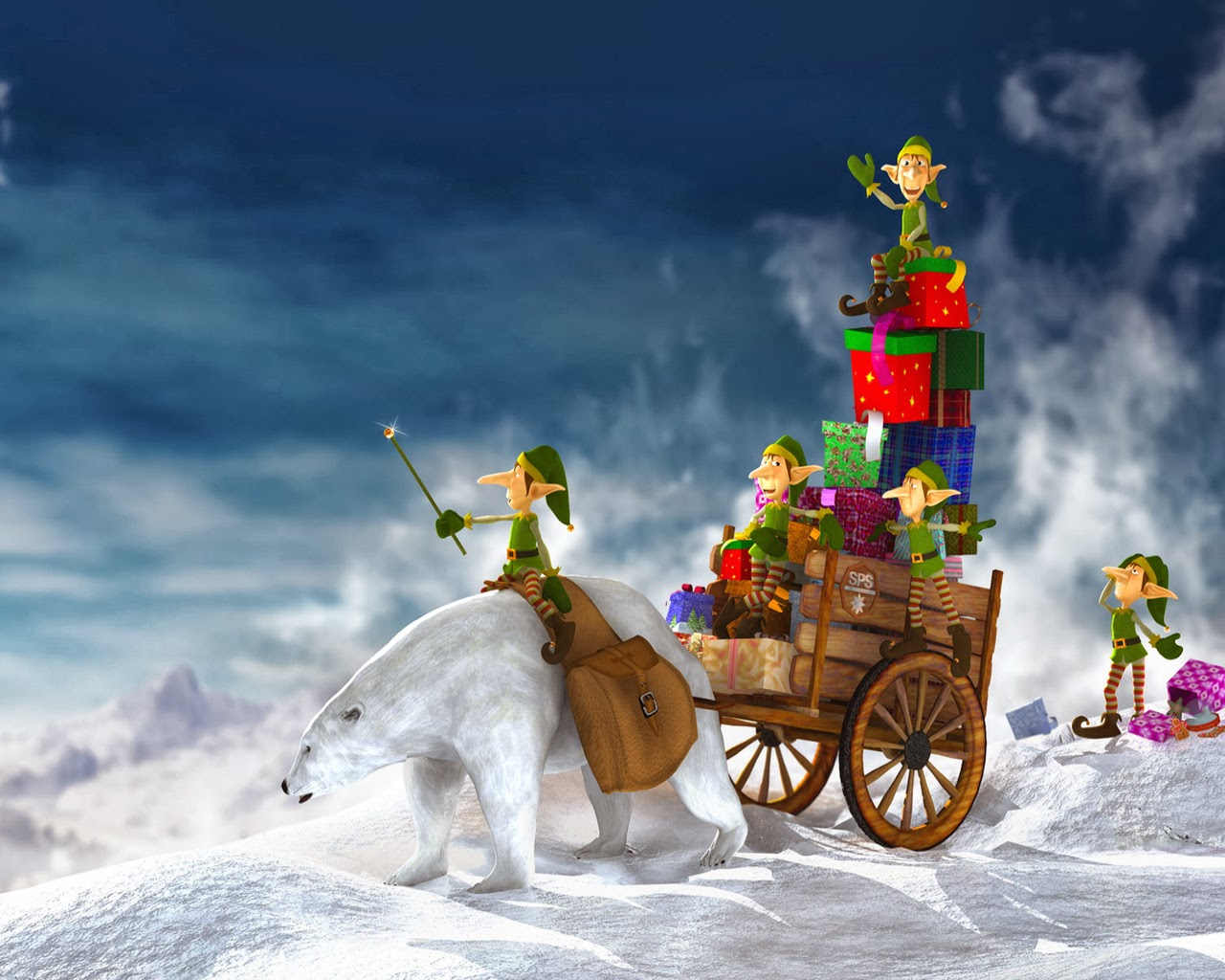 Christmas Wallpapers For Desktop 5jpg 1280x1024